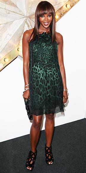 Naomi Campbell in Dolce & Gabbana
