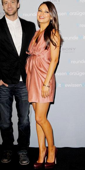 Mila Kunis in Lanvin