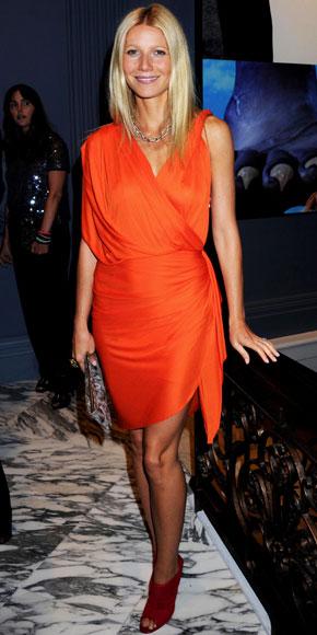 Gwyneth Paltrow wearing Lanvin