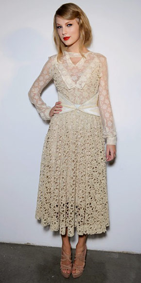 Taylor Swift in Rodarte