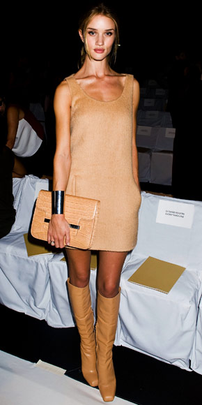 Rosie Huntington-Whiteley in Michael Kors