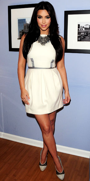 Kim Kardashian in Camilla and Marc