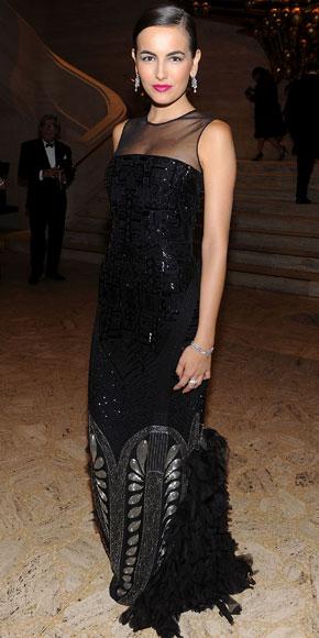Camilla Belle in Ralph Lauren