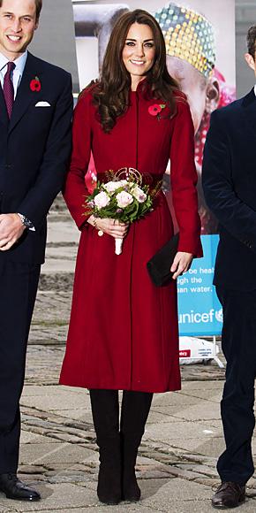Catherine Middleton in L.K. Bennett