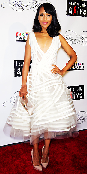 Kerry Washington in Donna Karan