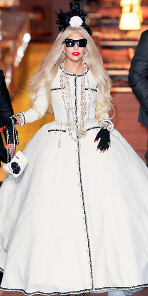 Lady Gaga in Chanel
