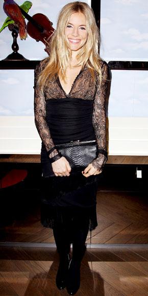 Sienna Miller in Emilio Pucci