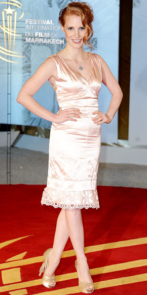 Jessica Chastain in Louis Vuitton