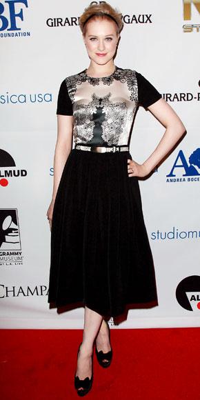 Evan Rachel Wood in Preen