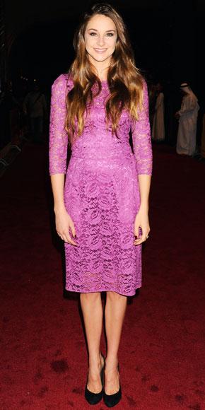 Shailene Woodley in Dolce & Gabbana