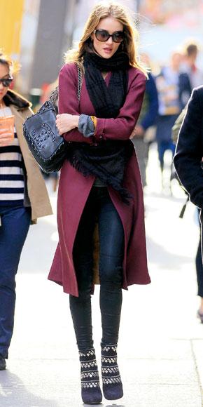 Rosie Huntington-Whiteley in Chanel