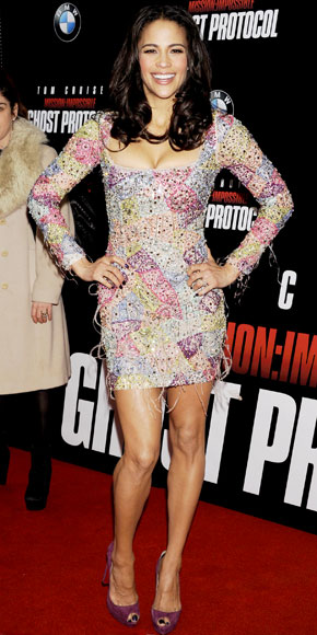 Paula Patton in Emilio Pucci