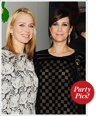 Kristen Wiig and Naomi Watts