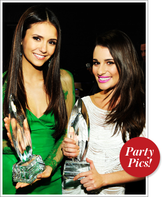 Nina Dobrev Lea Michele