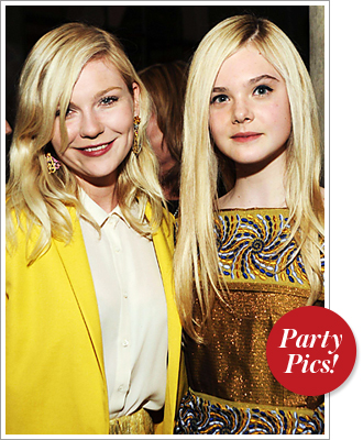 Kirsten Dunst and Elle Fanning