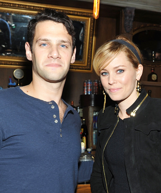 Elizabeth Banks and Justin Bartha