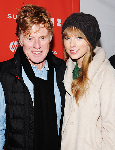 Taylor Swift, Robert Redford
