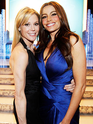 Julie Bowen and Sofia Vergara