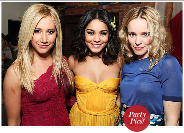 Parties - Vanessa Hudgens, Ashley Tisdale, Rachel McAdams