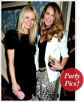 Gwyneth Paltrow Elle Macpherson Bottega Veneta