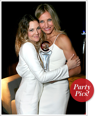 Drew Barrymore and Cameron Diaz at CinemaCon