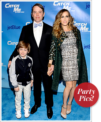 James Wilke, Matthew Broderick and Sarah Jessica Parker