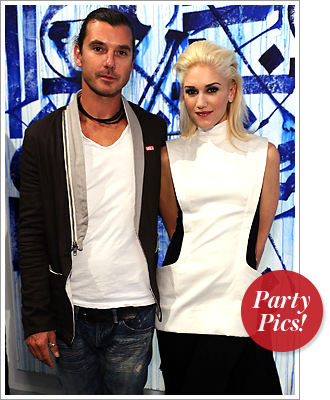 Gavin Rossdale and Gwen Stefani