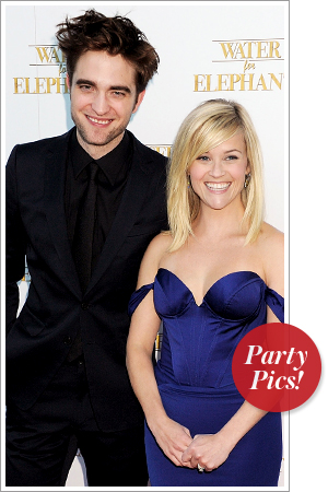 Robert Pattinson and Reese Witherspoon