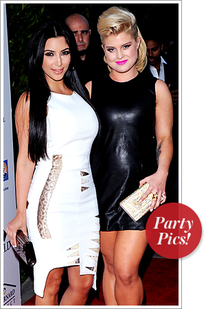 Kim Kardashian, Kelly Osbourne