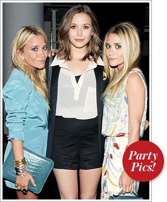 Mary-Kate Olsen, Ashley Olsen, Elizabeth Olsen