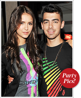 Nina Dobrev, Joe Jonas