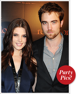 Ashley Greene, Robert Pattison