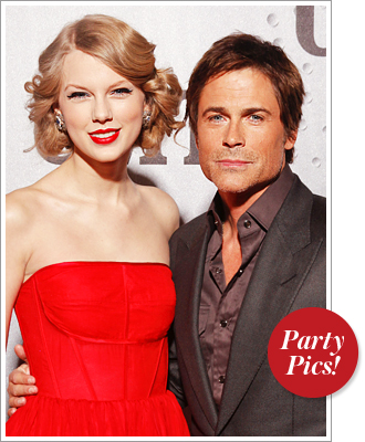 Taylor Swift Rob Lowe