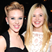 Scarlett Johansson and Elle Fanning Kick Up Their Heels!