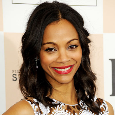 Zoe Saldana - Transformation - Beauty - Celebrity Before and After