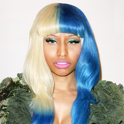 Nicki Minaj - Transformation - Hair - Celebrity Before and Hair