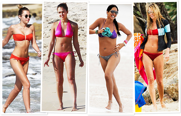 Celebrity Bikinis 2012: See the Photos