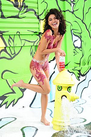 Jessica Szohr SoBe ads