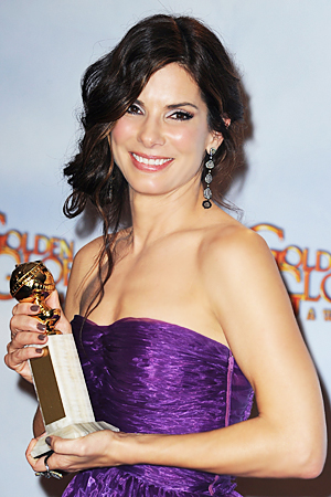 Sandra Bullock Golden Globes