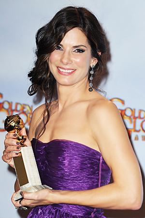 Sandra Bullock Golden Globes