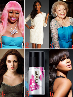 Nicki Minaj, The Bachelor, Betty White