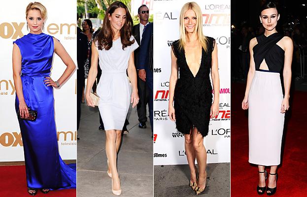 Roksanda Ilincic, Dianna Agron, Kate Middleton, Gwyneth Paltrow, Keira Knightley
