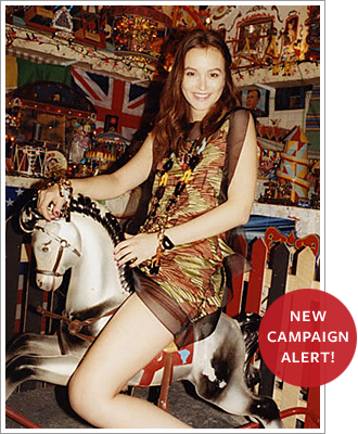 Leighton Meester's Missoni ads