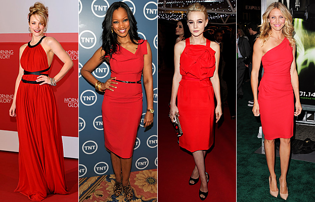 Rachel McAdams Red Dress Trend