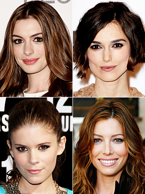 Kate Mara, Keira Knightley, Jessica Biel and Anne Hathaway