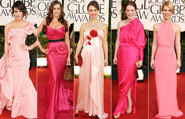 Golden Globes, Lea Michele, Sofia Vergara, Natalie Portman, Julianne Moore, Claire Danes