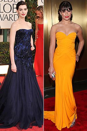 Anne Hathaway Lea Michele