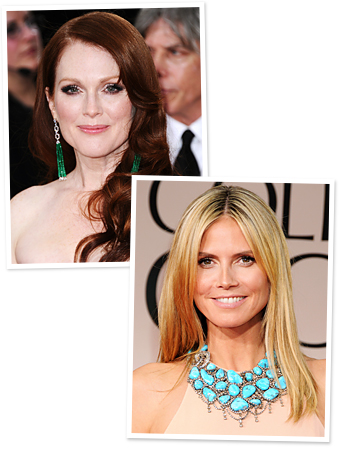 Julianne Moore, Heidi Klum