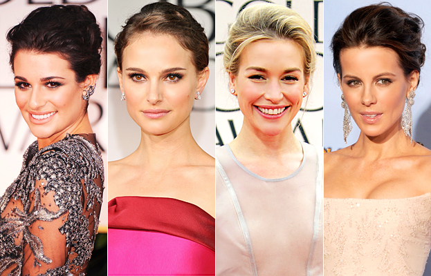 Hair Golden Globes Trend