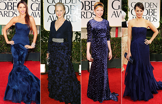 Michelle Williams, Helen Mirren, Sofia Vergara, Berenice Bejo